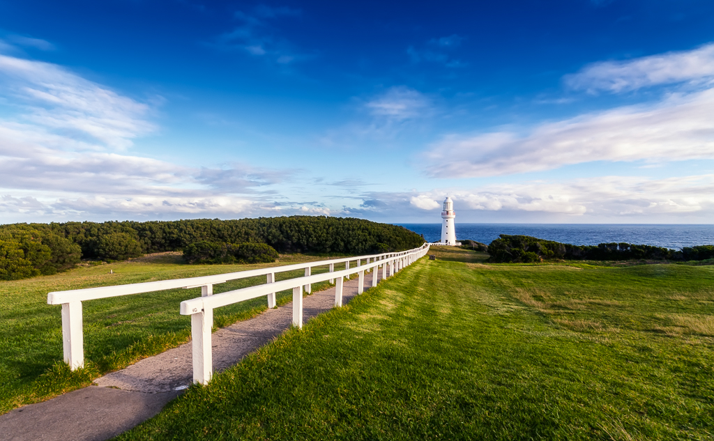 Cape Otway Lightstation - the leading rails